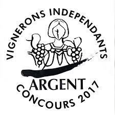 MEDAILLE D'ARGENT CONCOURS DES VINS DES VIGNERONS INDEPENDANTS