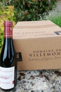 demi bouteille Haut Poitou Rouge- Cuvée Rubis-Domaine de villemont