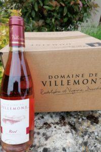 demi bouteille rosé- Haut Poitou-Domaine de villemont