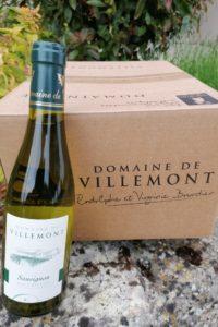 demi bouteille sauvignon- Haut Poitou-Domaine de villemont-